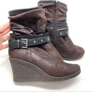 Muk Luks Wedge Boots
